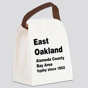 East Oakland Canvas Lunch Bag
