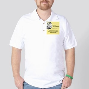 Stood Up iPhone Golf Shirt