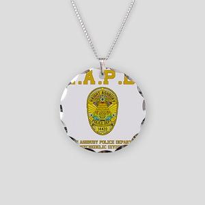 HAIGHT_ASHBURY_ Necklace Circle Charm
