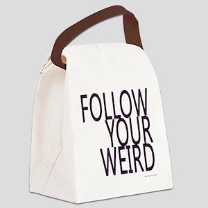 follow-your-weird-jh2011 Canvas Lunch Bag