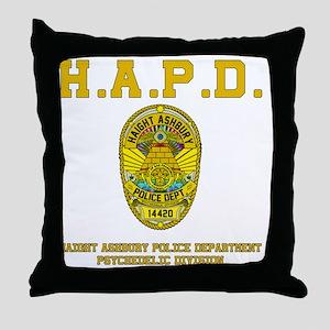 HAIGHT_ASHBURY_CLUTCHBAG Throw Pillow