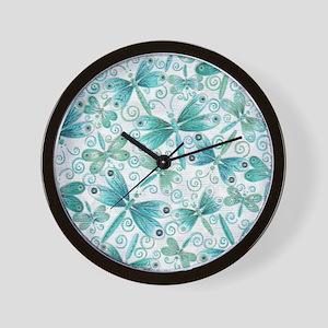 dragonflies2 Wall Clock