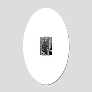 WTC-Complex-lge poster-8b5-c 20x12 Oval Wall Decal