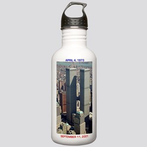 WTC-Complex-lge poster Stainless Water Bottle 1.0L