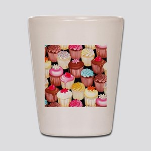yumming cupcakes Shot Glass