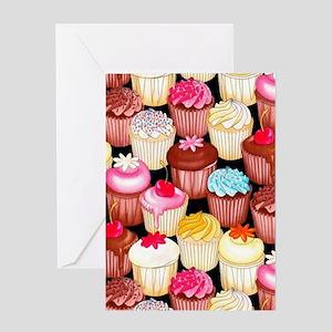 yumming cupcakes Greeting Card