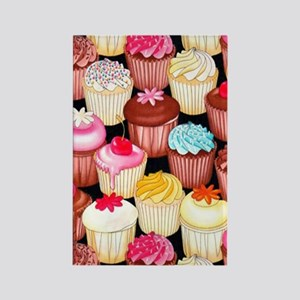 yumming cupcakes Rectangle Magnet