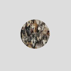 wolves Mini Button