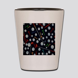 Golf Tees ipad Shot Glass