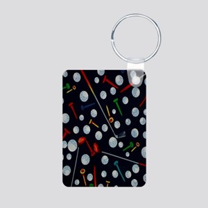 Golf Tees ipad Aluminum Photo Keychain