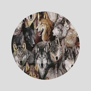 "wolves 3.5"" Button"