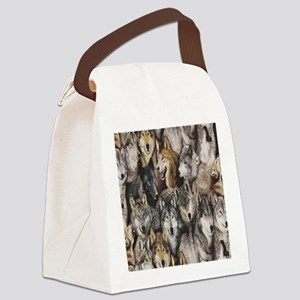 wolves Canvas Lunch Bag