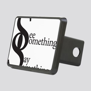 SS- outlines with words Rectangular Hitch Cover