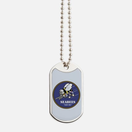 U.S. Navy Seabees Dog Tags