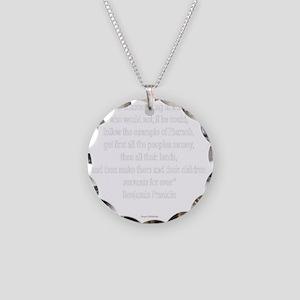 Servants Forever - Benjamin  Necklace Circle Charm