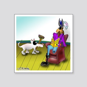 "2709_disabled_cartoon Square Sticker 3"" x 3"""