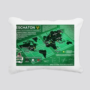 Eschaton-final-flat-hi-r Rectangular Canvas Pillow