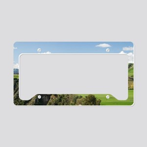 Rangitikei River and Farmland License Plate Holder