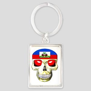 HAITISKULL Portrait Keychain