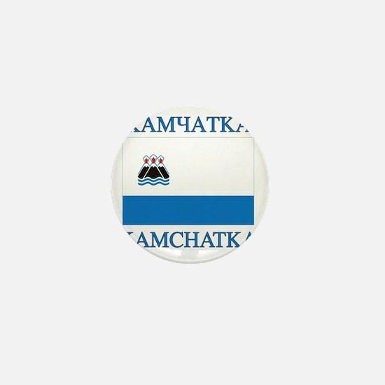 Kamchatka Flag Mini Button