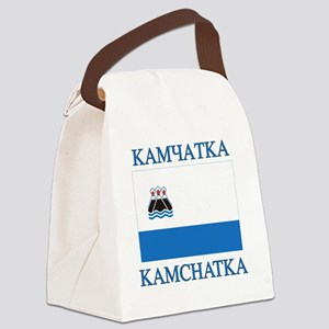 Kamchatka Flag Canvas Lunch Bag