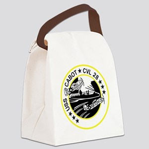 CVL-28 USS CABOT Multi-Purpose Li Canvas Lunch Bag