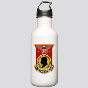 CVA-59 USS FORRESTAL M Stainless Water Bottle 1.0L