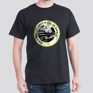 CVL-28 USS CABOT Multi-Purpose Light  Dark T-Shirt