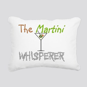 The martini whisperer Rectangular Canvas Pillow