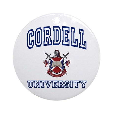 CORDELL University Ornament (Round)
