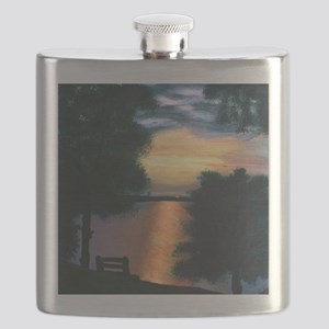 Mitiwanga sunset card Flask