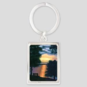 Mitiwanga sunset card Portrait Keychain