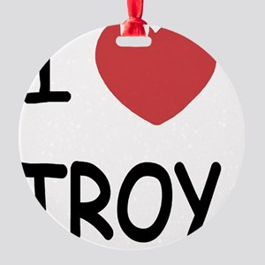 TROY Round Ornament