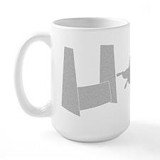Flyball Shadow Large Mug