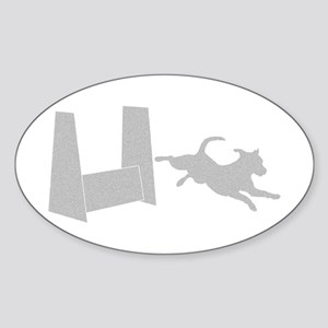 Flyball Shadow Oval Sticker
