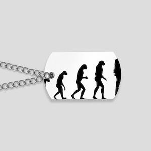 evolutiontourist Dog Tags