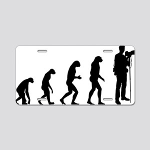 evolutiontourist Aluminum License Plate