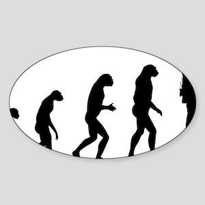 evolutiontourist Sticker (Oval)