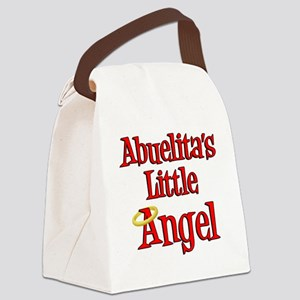 Abuelitas Little Angel Canvas Lunch Bag