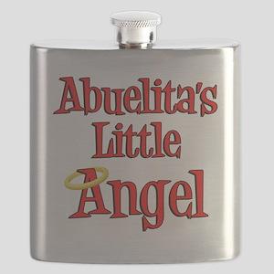 Abuelitas Little Angel Flask