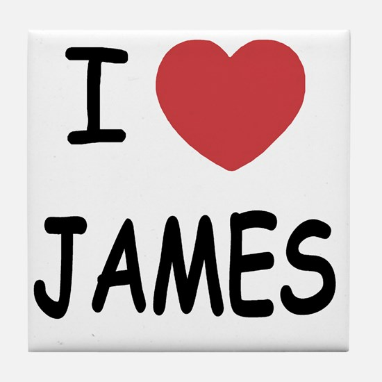 JAMES Tile Coaster