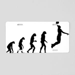 evolutionbasket2 Aluminum License Plate