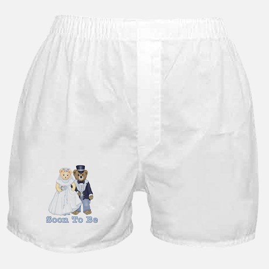 Soon to Be - Bride & Groom Boxer Shorts