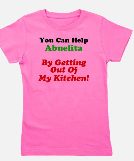 Abuelita Out Of My Kitchen Girl's Tee