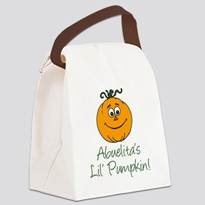 Abuelitas Little Pumpkin Canvas Lunch Bag