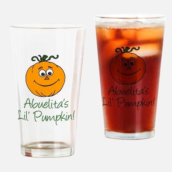 Abuelitas Little Pumpkin Drinking Glass