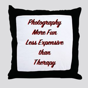 Photo Therapy Throw Pillow
