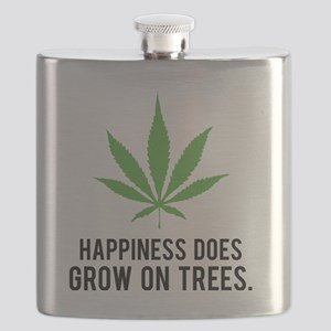 weedLeafHappiness1 Flask