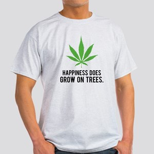 weedLeafHappiness1 Light T-Shirt