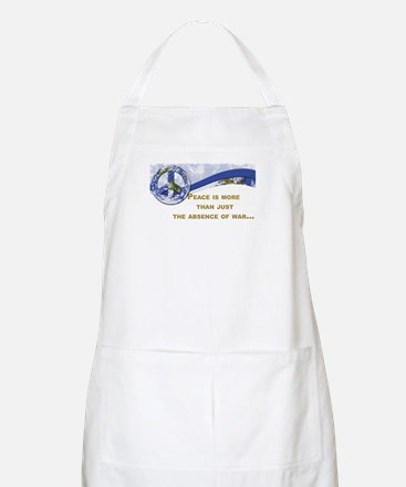 Peace is About More.,.. BBQ Apron
